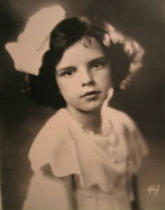 Judy Garland, child star.