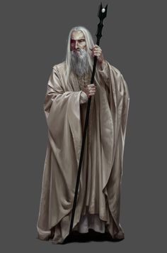 Saruman, by Daarken for the game The Hobbit: Battle of Five Armies