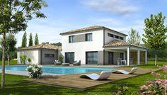 Plongez dans l'univers de lumière et de confort de cette maison moderne, d'inspiration méditerranéenne.