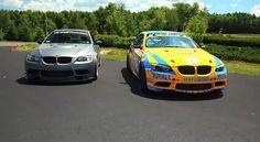 Turner Motorsport's BMW M3 Race Car & 535HP Frozen Gray M3: Video http://www.automotiveaddicts.com/32785/matt-farah-turner-motorsports-bmw-m3-race-car-535hp-frozen-gray-m3-video