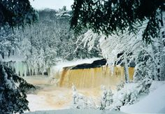 Upper Tahquamenon Falls - Newberry,MI where I hope to live someday Winter Activities, Family Activities, Places Ive Been, Places To Visit, Michigan Travel, Upper Peninsula, Northern Michigan, Winter Fun, Natural Wonders