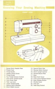 sears kenmore manual sewing machine