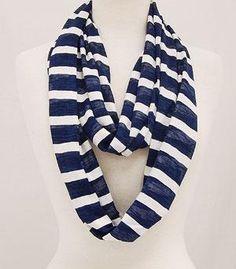 Nautical ring scarf