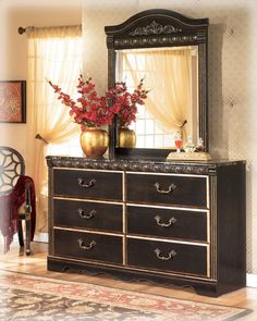 Coal Creek Dresser and Mirror
