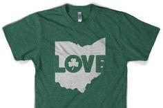 Cleveland Clothing Co. Ohio Love t-shirt