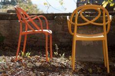 Green Etoile kunststof terrasstoel