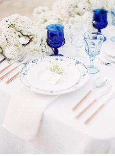 Serenity by the Sea Wedding Sand, Blue Wedding Invitations, Blue Wedding Dresses, Decoration Table, Tablescapes, Interior Decorating, Wedding Inspiration, Table Designs, Sea