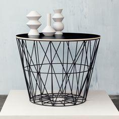 Wire basket by Ferm Living. Love it! @TerezaPregoD choices