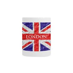 Union Jack Flag Morphing Mug(Man)