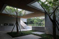 Chongqing Taoyuanju Community Center by Vector Architects