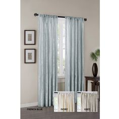 Madison Park Athens 95-inch Curtain Panel   Overstock.com