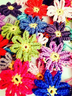 Annemarie's Haakblog: Flower Project