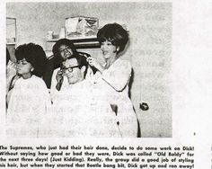 The Supremes with Dick Clark