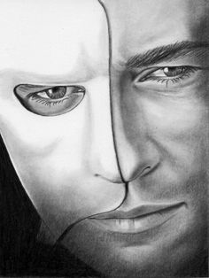 Gerard Butler as Phantom of the Opera by Drawings by KimSchultz... it is super realistic!