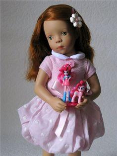 Ко Дню всех влюблённых! Minouche от Silvia Natterer / Sylvia Natterer, Сильвия Наттерер. Коллекционно-игровые куклы / Бэйбики. Куклы фото. Одежда для кукол