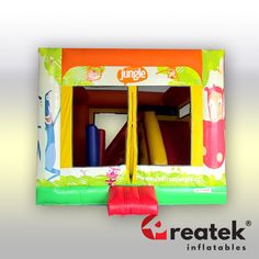 Reliable Europe manufacturer of safe and EU certified bouncy, jumping castles for commercial use. Inflatable Slide, Logo Shapes, Bouncy Castle, Indoor Playground, Design Your Own, Castles, Playroom, Balloons, Commercial
