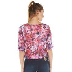 Compra GIGI RIVA - Blusa Mujer Gasa Flores - Lila online ✓ Encuentra los mejores productos Blusas Mujer GIGI RIVA en Linio Perú ✓