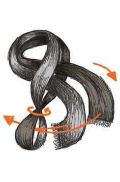 The braid scarf