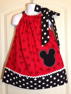 baby girl party dresses Girls Mickey Mouse Dress Mickey Pillowcase Dress Minnie Birthday Dress Mouse Ears Party Dress An adorable dress for your young lady. Just in time to wear Baby Girl Party Dresses, Dresses Kids Girl, Birthday Dresses, Little Girl Dresses, Baby Dress, Cute Dresses, Girl Outfits, Mickey Mouse Dress, Minnie Mouse