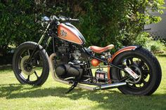 Kawasaki KZ400 1979 By Chappell Customs    ♠ http://hellkustom.blogspot.com/ ♠