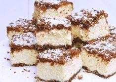 Strúhaný tvarohový koláč s kokosom