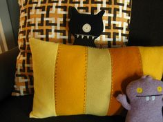 Wool Pillow I with Uglydolls by badecca, via Flickr