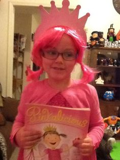 Pinkalicious costume for book character dress up day