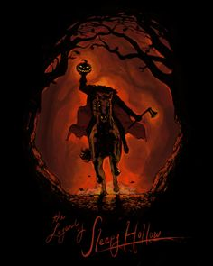 The Legend Of Sleepy Hollow by Kyle Patterson can find Sleepy hollow and more on our website.The Legend Of Sleepy Hollow by Kyle Patterson Sleepy Hollow Halloween, Happy Halloween, Disney Halloween, Halloween Horror, Vintage Halloween, Fall Halloween, Halloween Rocks, Halloween Artwork, Halloween Pictures