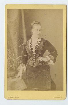 Vintage Cabinet Card Victoria, Princess Royal Empress Frederick of Germany   eBay