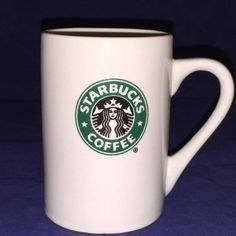Starbucks Coffee Company Cup 2008 Mermaid Logo 10 oz Ceramic Mug Double Sided