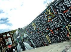 DAY 4:  GRAPHIC INSPIRATION    Big Walls By El Mac, Retna - Los Angeles (CA)