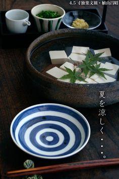 Japanese cold tofu dish