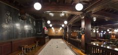 Game Room at the Chicago Athletic Association Hotel -- a historic 1890's monument to the big-shouldered, can-do spirit that defines our city, transformed into an incomparable Chicago boutique hotel with commanding views across Millennium and Maggie Daley Parks to Lake Michigan. #RomanandWilliams