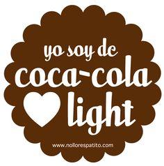Yo soy de coca cola light