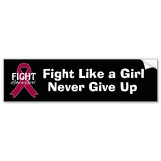 Fight Like a Girl Multiple Myeloma Ribbon