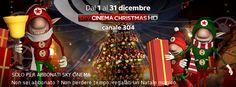 per tutto il mese di dicembre #sky #cinema #christmas Canale per famiglie e cinepanettoni  #natale