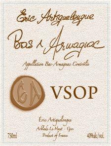 Eric Artiguelongue -  Armagnac Vsop (750ml) (750ml)