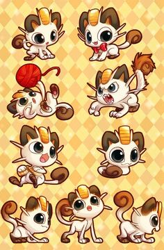 Meowth is so adorable