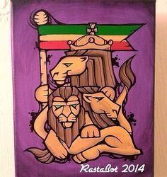 Reggae Art, Haile Selassie, The Heart Of Man, Black Pride, Slums, Oppression, African, History, Historia