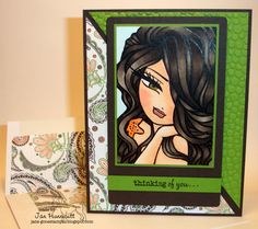 She's gone digital...: Copic Hair Coloring Video Tutorial