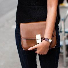 Cartier + Celine Classic Box Bag + Black = the ultimate fall combo