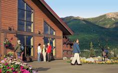 Denali Princess lodge....I loved staying here!