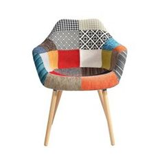 Chaise Anssen patchwork