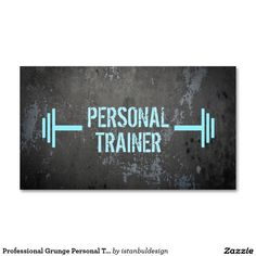 17 best personal trainer business cards images on pinterest professional grunge personal trainer business card colourmoves