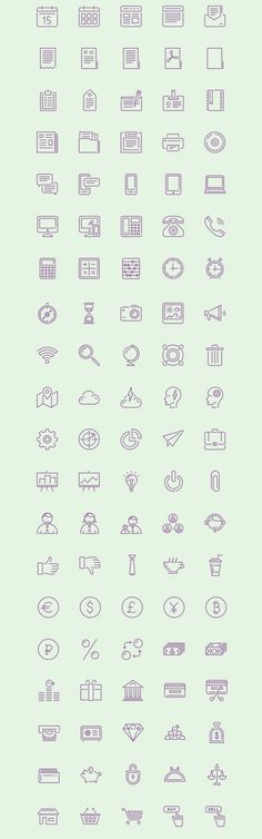 Free Download : Puppets: 100 Stroke Icons