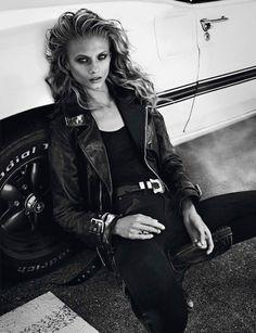Mary-Kate Sawyer: Vogue Paris November 2012