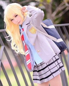 """2,209 Likes, 13 Comments - Anime Cosplay Official (@cosplay.world_) on Instagram: """"- Anime : Your Lie In April Character : Kaori Miyazono Coser : Haneann (Taiwan) FB :…"""""""