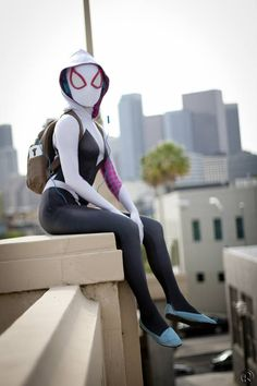Spider-Gwen by Hendo Art. Hot #cosplay #sexy cosplay #erotic cosplay seen also…