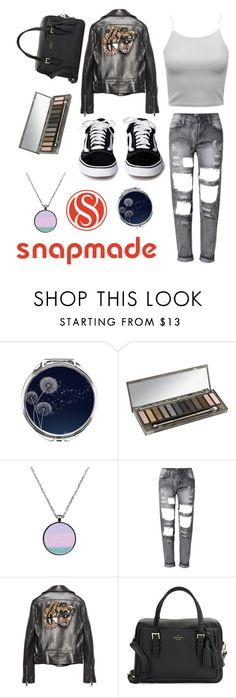"""snapmade"" by libil ❤ liked on Polyvore featuring Urban Decay, Gucci and Kate Spade"
