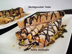 TAHİN HELVALI ÇITIRLAR | Mutfak Ve Tatlar Turkish Sweets, Tahini, Snacks, Sushi, Pork, Food And Drink, Beef, Cookies, Dinner